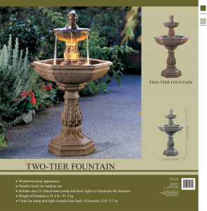 550 Two Tier Fountain h1